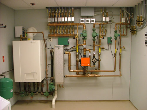 Wilder plumbing heating for Room heating system